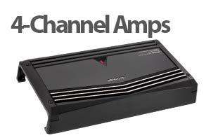 4 Channel Car Amplifiers