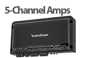 5 Channel Car Amplifiers