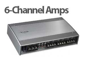 6 Channel Car Amplifiers