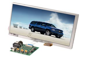 7 Inch Raw TFT LCD Monitors