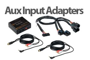 Auxiliary Audio Input Adapter