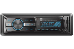 Single DIN No Video Car Stereo Receivers