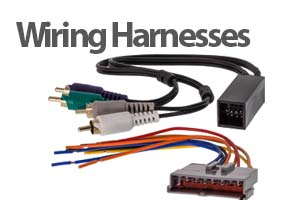 Car Stereo Wiring Harnesses