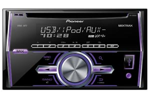 Double DIN No Video Car Stereo Receivers