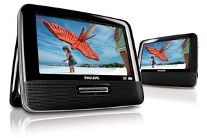 Dual Screen Portable DVD players