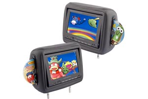 Headrest Monitors & DVD Headrests
