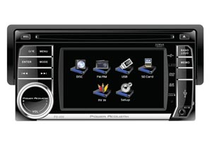 In Dash DVD Player with Screen