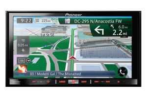In Dash Monitor with Car GPS Navigation