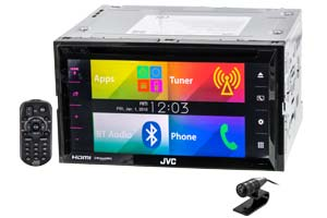 JVC Double DIN Radios
