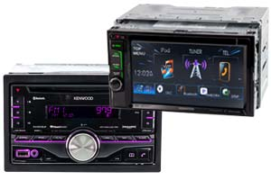Kenwood Double DIN Radios