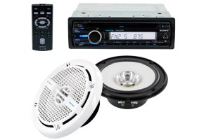 Marine Stereo Combo Packages