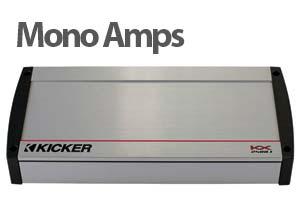 1 Channel Car Amplifiers