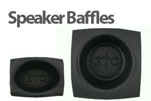 Speaker baffles