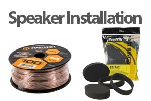 Speaker Installation Hardware and Parts