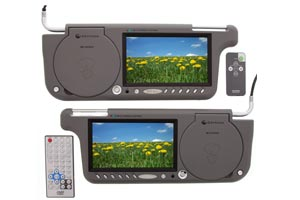 Sun Visor LCD Monitors