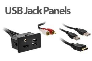 USB Jack Panels