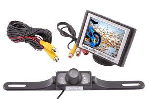 Wired Back-Up Camera Systems