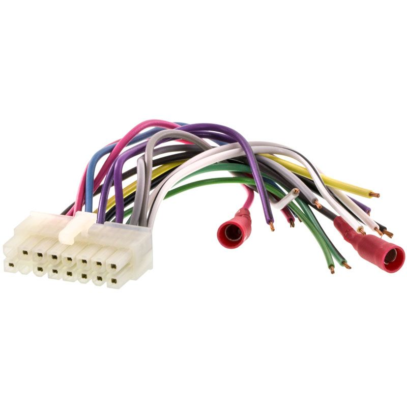 Clarion Car Stereo Replacement Harness, Clarion Car Stereo Wiring Diagram
