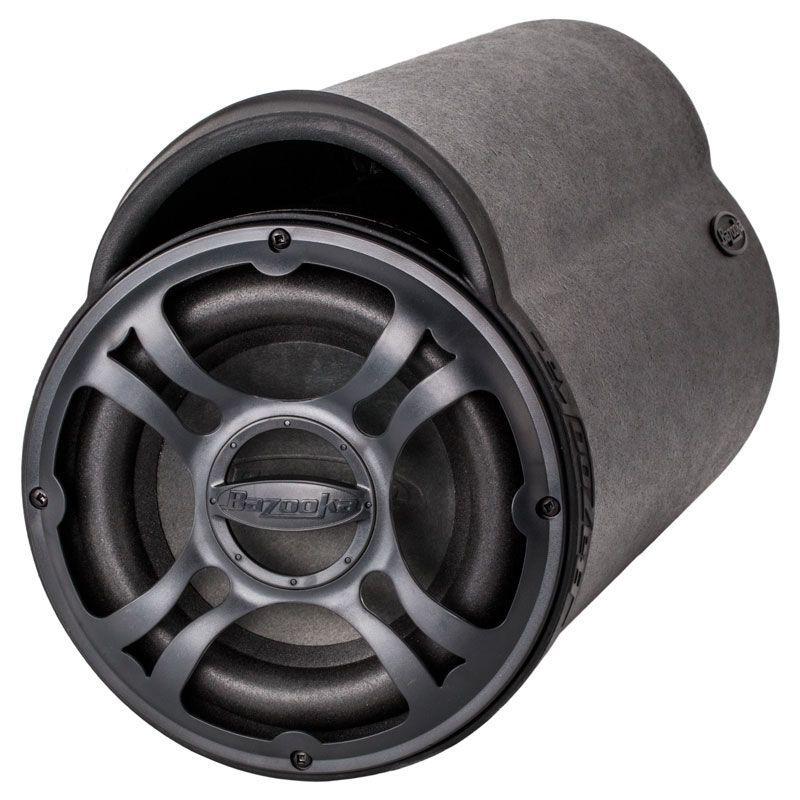 Bazooka BTA8100 BT Series 8 Inch 100 Watt Amplified Bass Tube Subwoofer | Bazooka Bta8100 Wiring Harness |  | Quality Mobile Video