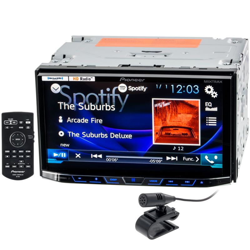 Pioneer Avh X5800bhs 7 Inch Dash Double Din Car Stereo Receiver