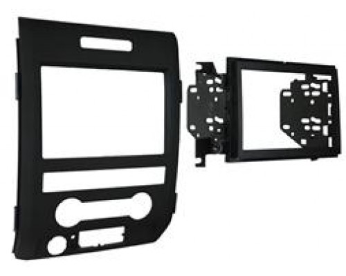 DISCONTINUED - Metra 95-5820 Dash Kit Turbokit Double DIN Ford F-150 2009 Vehicles (Excluding Base Model)