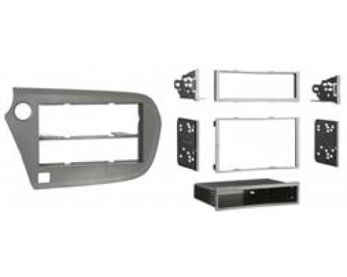 Metra 99-7878B Matte Black Dash Kit Turbokit Single or Double DIN Honda Insight 2010 Vehicles