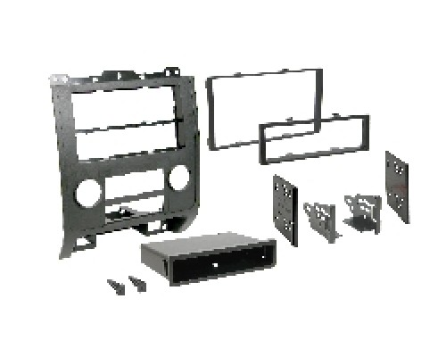 Metra 99-5814 Black Dash Kit Turbokit Double DIN Ford Escape, Mazda Tribute and Mercury Mariner 2008-2009 Vehicles
