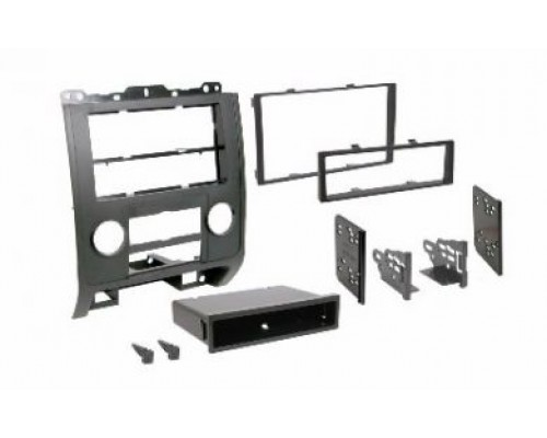Metra 99-5814S Silver Dash Kit Turbokit Double DIN Ford Escape, Mazda Tribute and Mercury Mariner 2008-2009 Vehicles