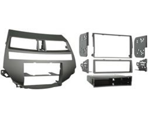 Metra 99-7875T Double DIN Taupe Dash Kit for 2008 - 2012 Honda Accord with Dual Zone Automatic Climate Controls