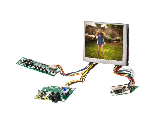 "Accelevision LCD35VGAN 3.5"" LED back lite LCD monitor with VGA - Main"