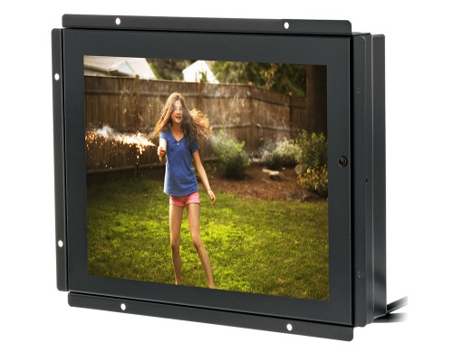 Accelevision LCDM84VGATS 8.4 inch Metal Housed LCD Monitor Module - Touchscreen