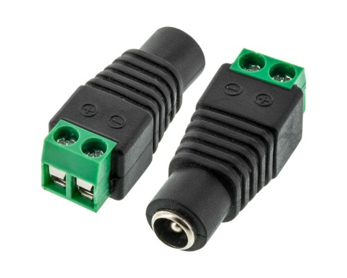Accelevision PS204PF1 5.5mm x 2.1mm Female DC power jack with screw terminals - Main
