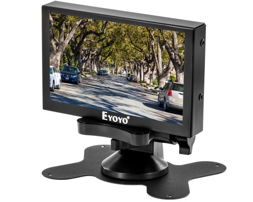 Eyoyo S501H 5 inch Metal Housed LCD Monitor with HDMI, VGA, BNC and Composite Video inputs - Main