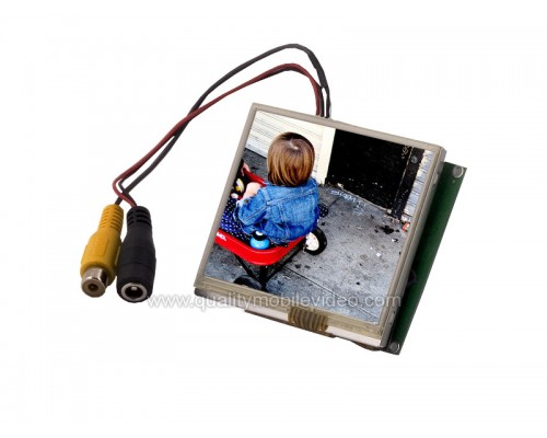 Accelevision LCD35LV Universal 3.5 inch Raw Module LCD Monitor with QVGA Digital Video Input