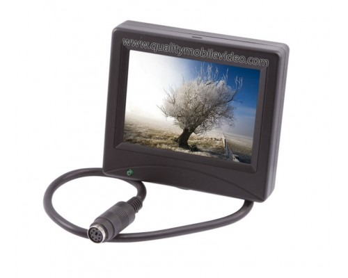 "DISCONTINUED - Accelevision LCDP35N 3.5"" Universal LCD Monitor with reverse trigger"