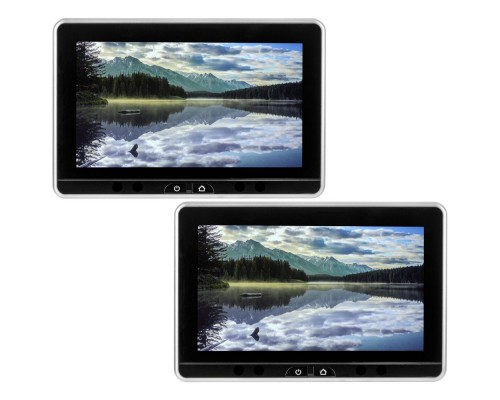 Audiovox AVXSB10UHD 10.1 inch Dual Seat-Back Entertainment System with Android, DVD, HDMI, SD, USB, Smartstream & Touch-Screen Interface