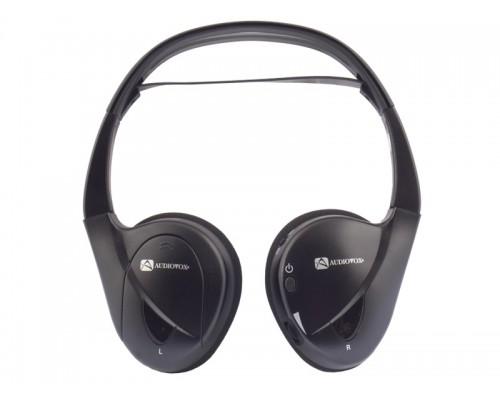 Audiovox R2H-E50CL Dual Channel Fold Flat IR Wireless Headphones - Replaces the IR2CFF