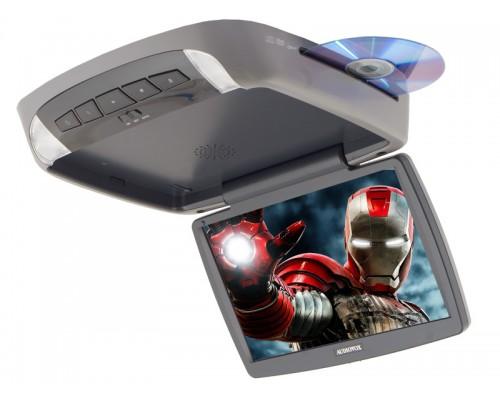 "Audiovox VOD102 10.2"" Overhead DVD player - Main unit in grey"