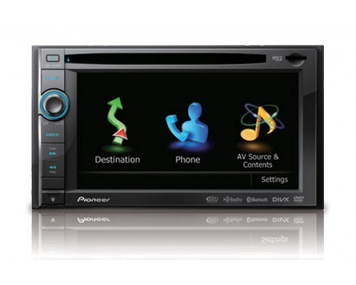 """Discontinued - Pioneer AVIC-X930BT 6.1"""" In-Dash Double DIN Touchscreen with CD/DVD/MP3 Receiver, Built-in Navigation, Bluetooth and SD/USB Inputs"""