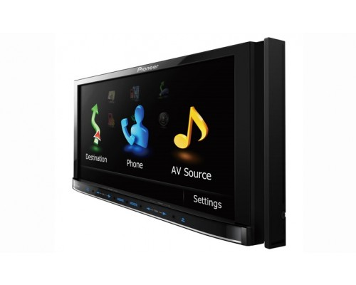 DISCONTINUED - Pioneer Flagship AVIC-Z120BT 7 Inch In Dash LCD Monitor with GPS Navigation AV Receiver, DVD Playback and Built In Bluetooth