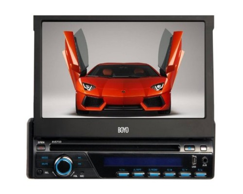 Boyo AVS703 In-Dash DVD Player