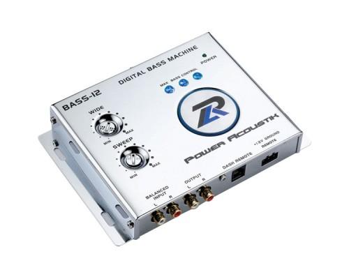 Power Acoustik BASS-12 Digital Bass Driver and Max Bass Control Signal Processor Machine