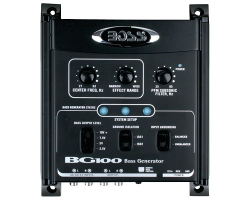 DISCONTINUED - Boss Audio BG100 Bass Generator with Remote Level Control
