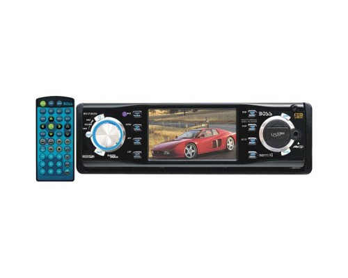 "DISCONTINUED - Boss Audio BV7300 3.2"" In-Dash Drop-Down Monitor with DVD"
