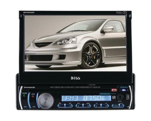 "Boss Audio BV9986BI 7"" Single-DIN Motorized Touchscreen TFT DVD Receiver with Bluetooth®"