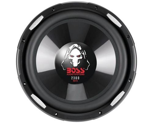 Boss Audio P126DVC Dual Voice Coil Phantom Series Dual 4 Ohm Voice Coil Subwoofer 12 inch