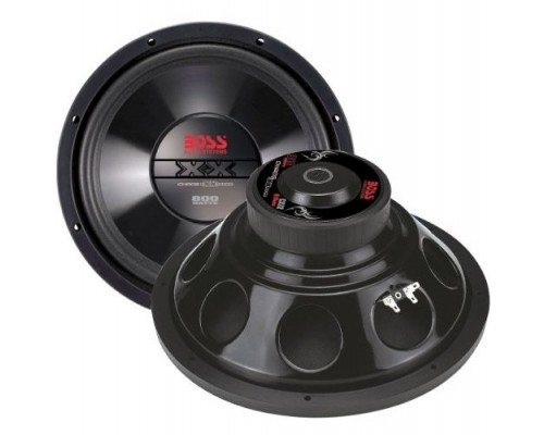 Discontinued - Boss Audio CX100DC Chaos Exxtreme Series 10 Inch Dual 4-Ohm Voice Coil 2000W Subwoofer with Diecast Aluminum Basket