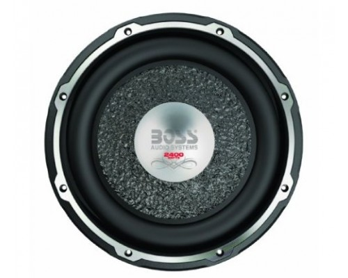 DISCONTINUED - Boss Audio CX120DC Chaos Exxtreme Series 12 Inch Dual 4-Ohm Voice Coil 2200W Subwoofer with Diecast Aluminum Basket