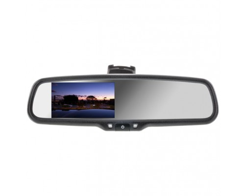 Boyo VTM43M4 4.3 Inch Digital Rear View Mirror Monitor with 4-Video inputs