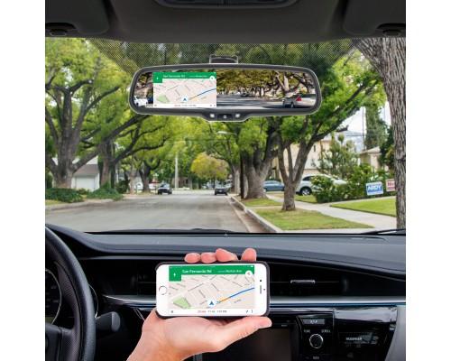 Boyo VTM43ML 4.3 Inch Digital Rear View Mirror Monitor with HDMI & Device Mirroring Capabilities - Main